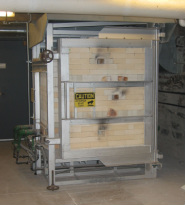30cf Gas Kiln Designed and Fabricated for Princeton University by Brooklyn Kiln Works